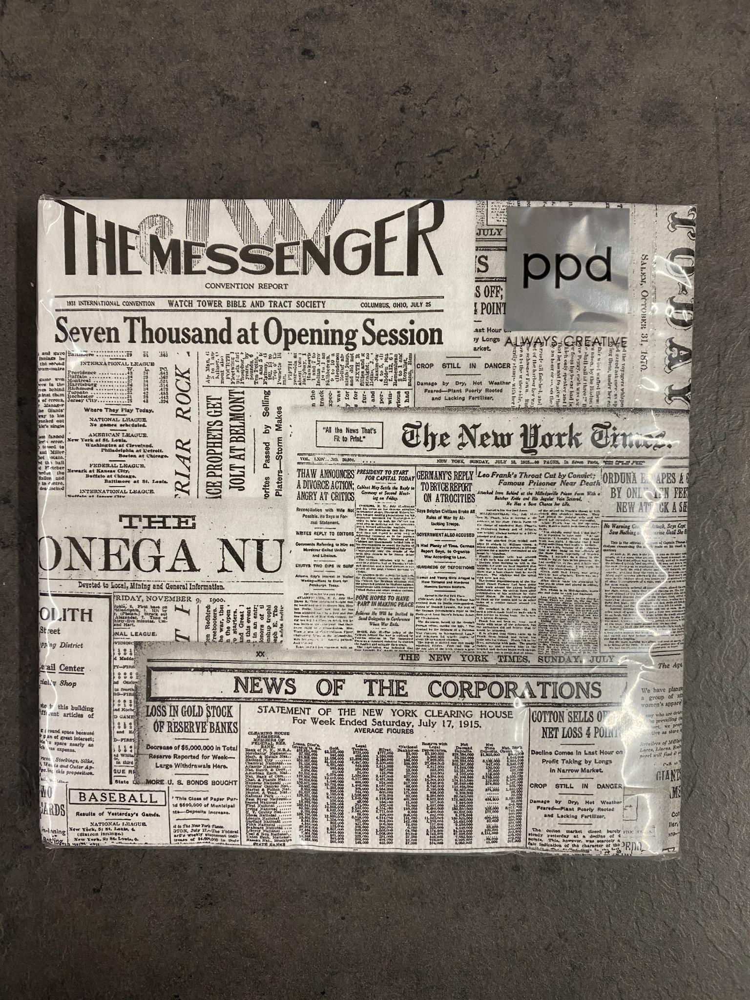 Servietten 33x33cm The Messenger
