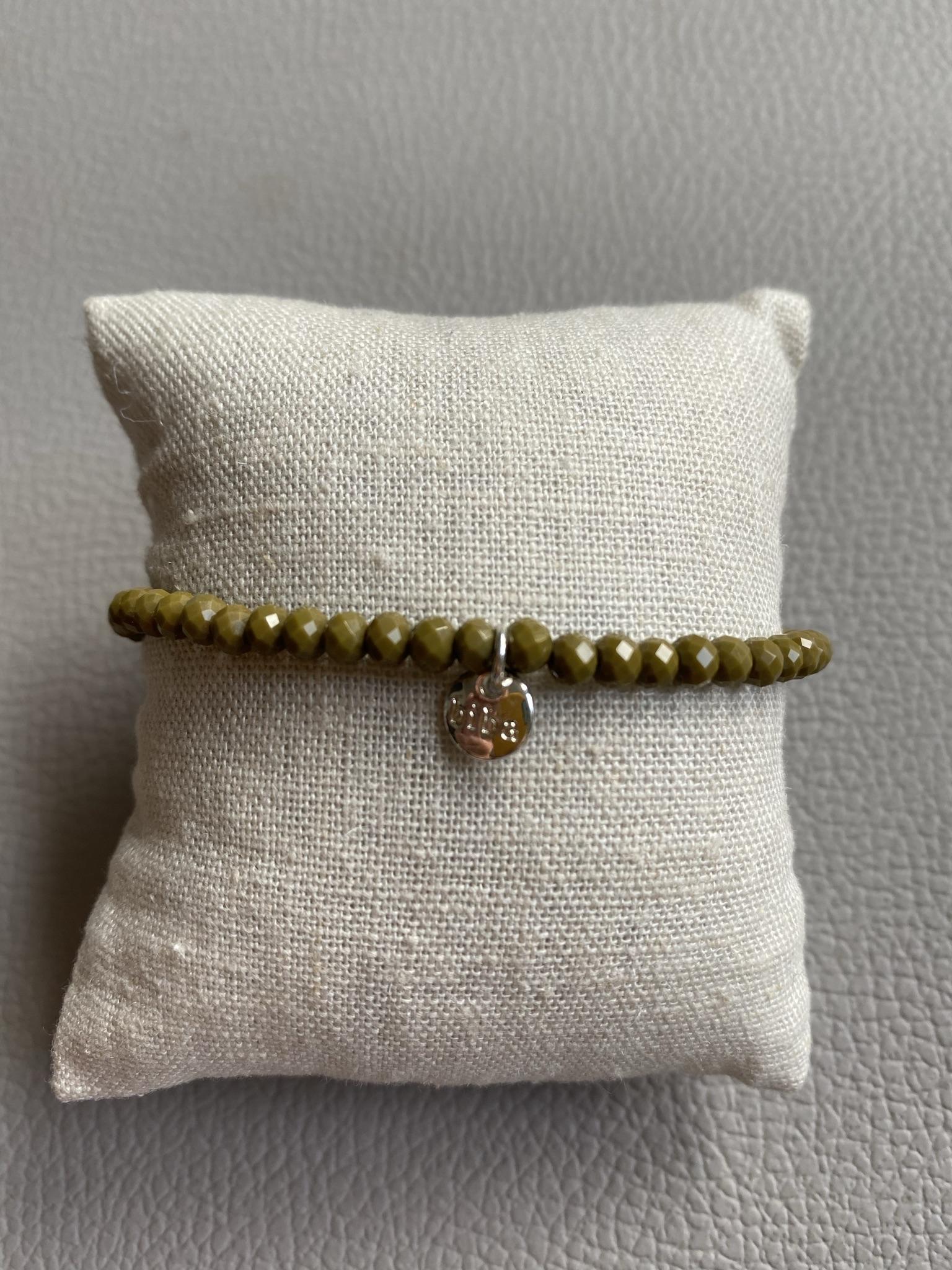 Biba Armband grün silber