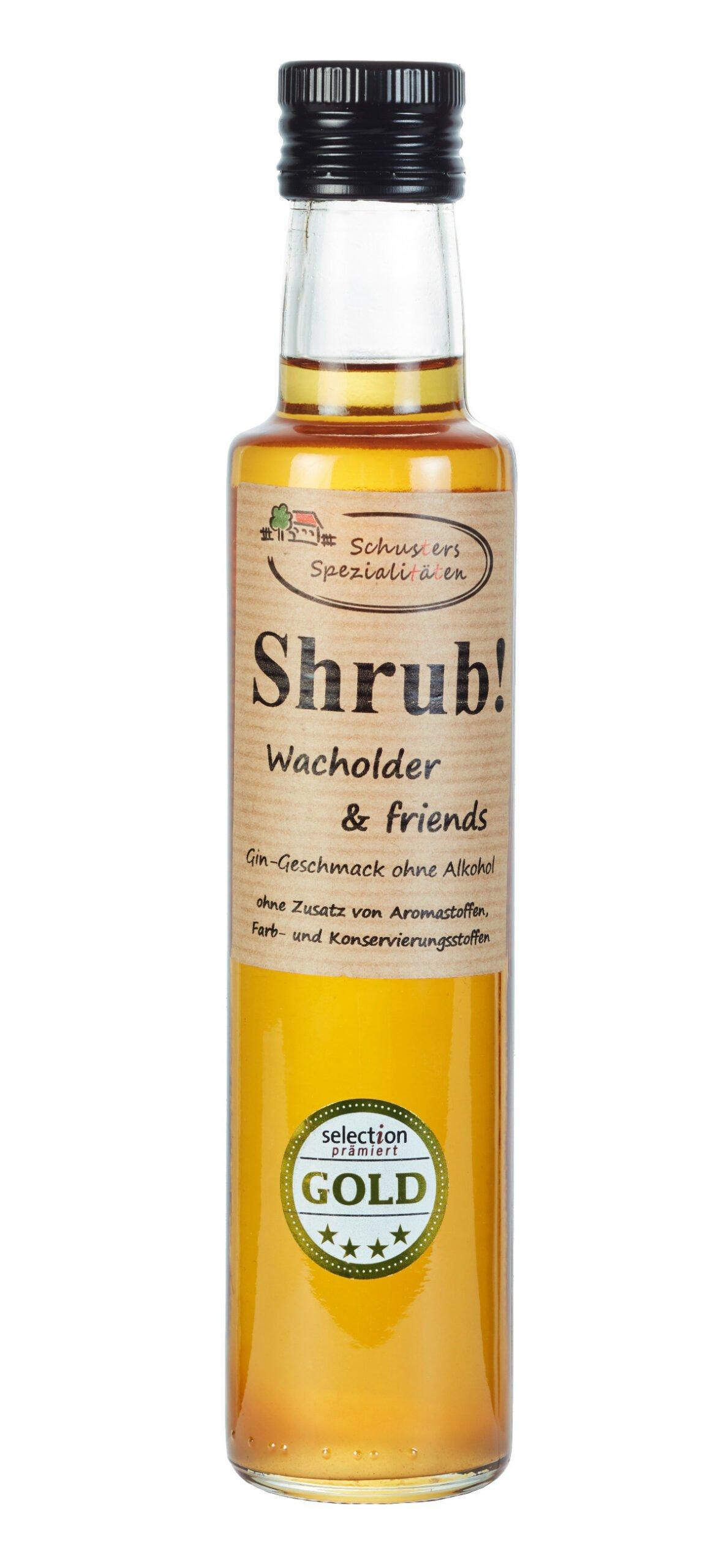 Shrub Wacholder & friends 250ml