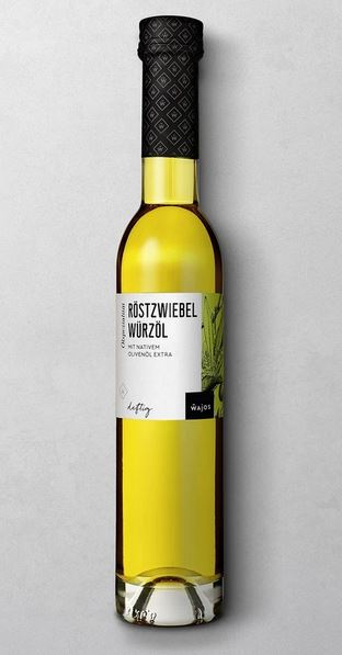 WAJOS RÖSTZWIEBEL WÜRZÖL 250 ML  mit nativem Olivenöl extra