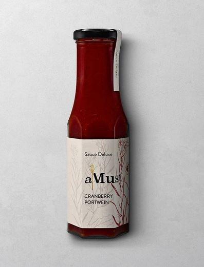 WAJOS AMUST CRANBERRY PORTWEIN SAUCE  Sauce Deluxe