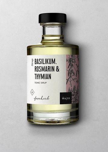 WAJOS BASILIKUM, ROSMARIN & THYMIAN - Tonic Sirup