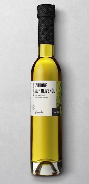 WAJOS ZITRONE AUF OLIVENÖL 250 ML  mit nativem Olivenöl extra