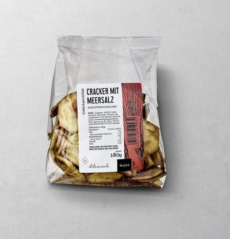 WAJOS CRACKER MIT MEERSALZ  Zum Dippen & Snacken