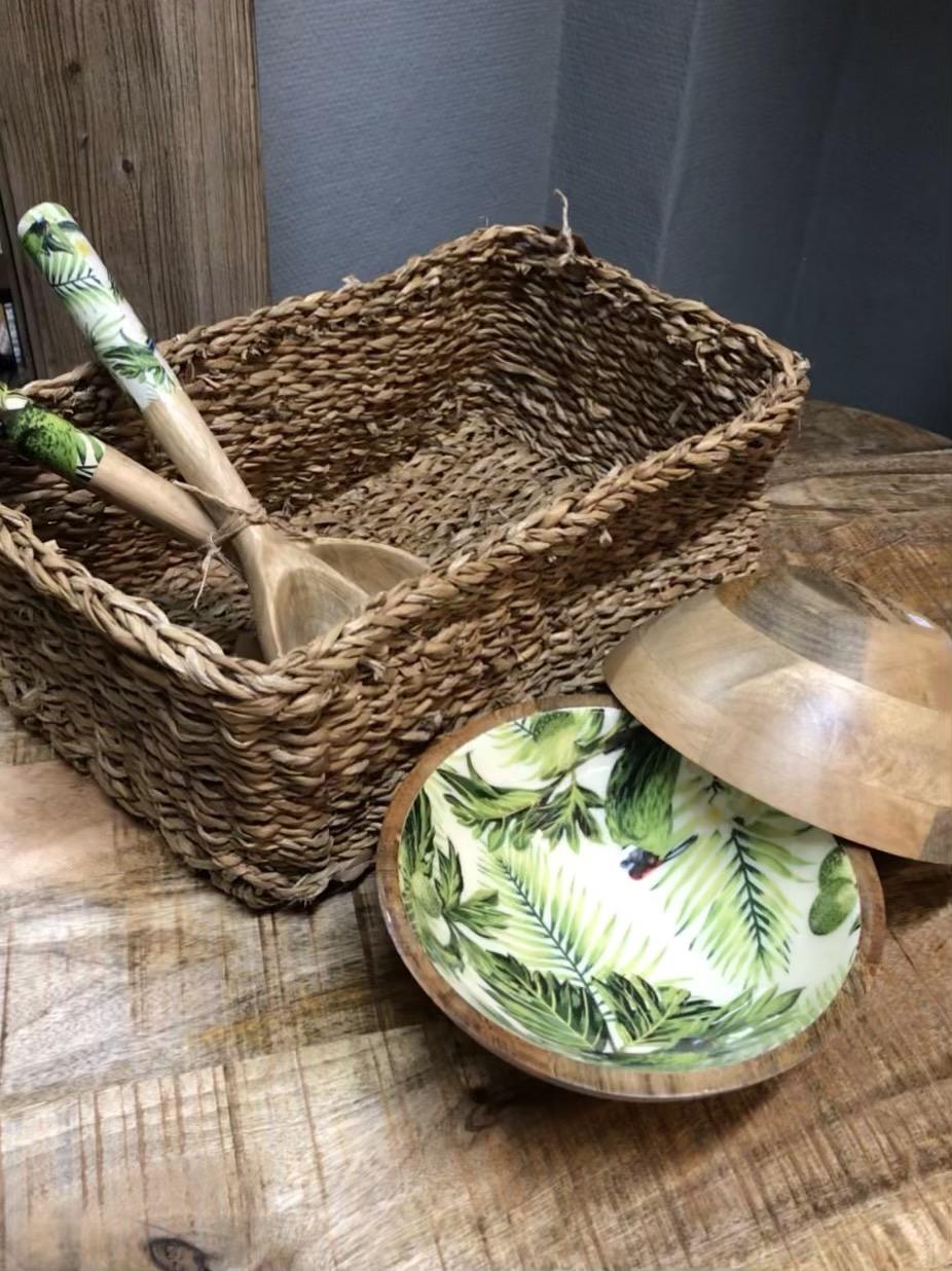 Salatbesteck Mangoholz Tropic