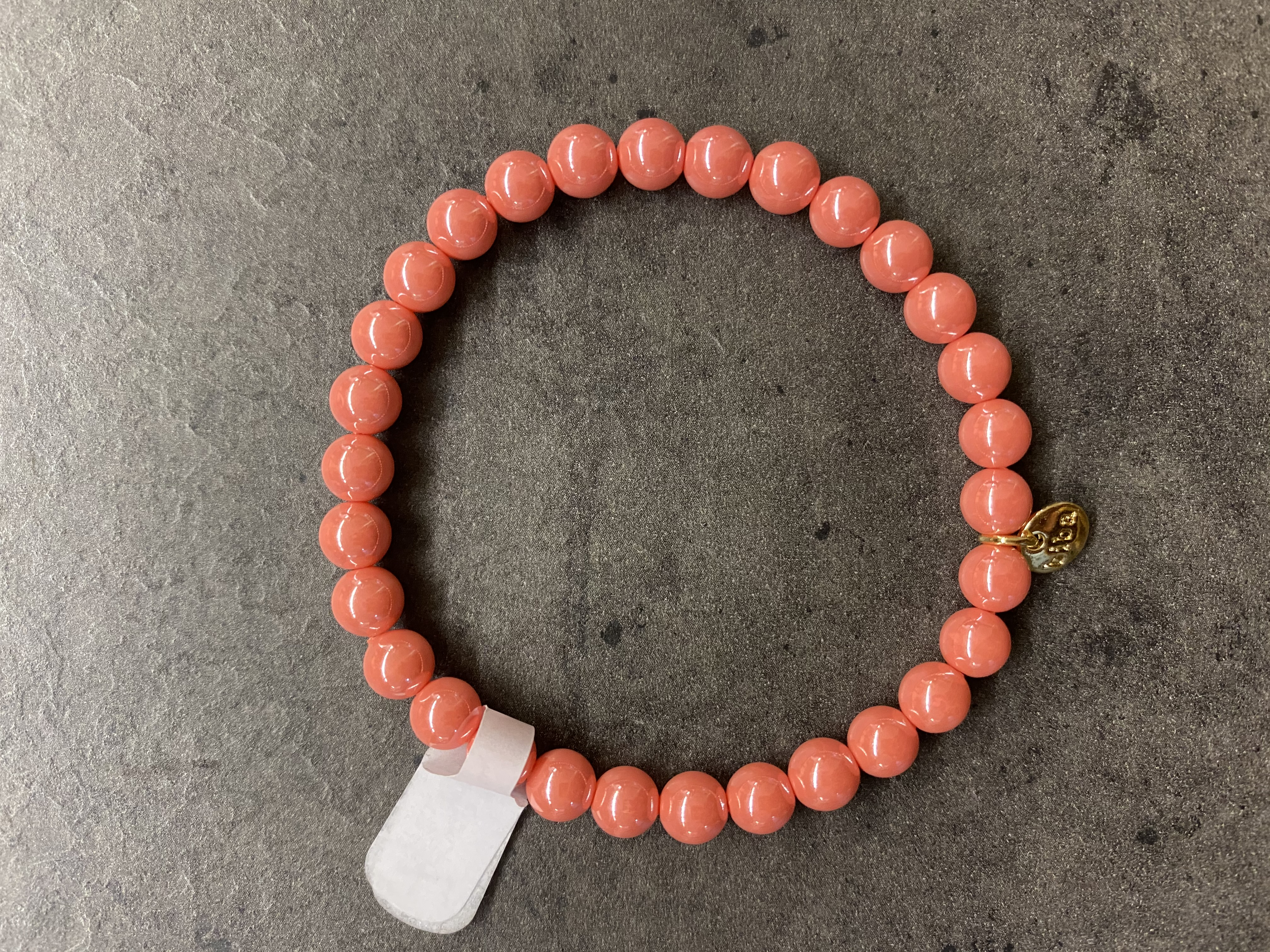 Biba Armband pink/gold
