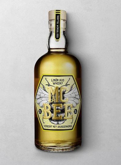 WAJOS MAC BEE  Likör aus Whisky verfeinert mit Akazienhonig