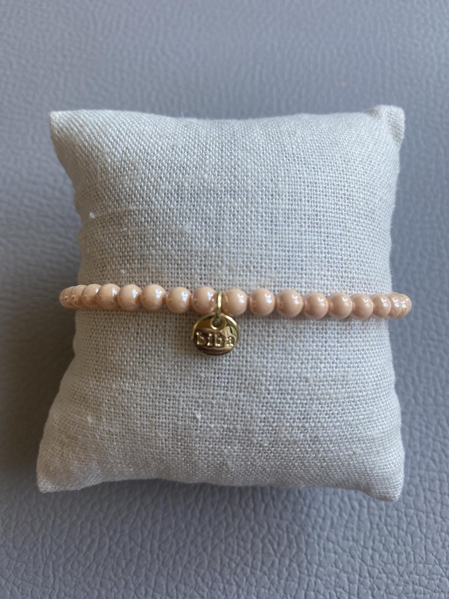 Biba Armband apricot/gold