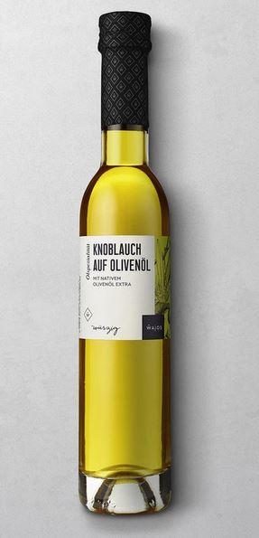 WAJOS KNOBLAUCH AUF OLIVENÖL 250 ML  mit nativem Olivenöl extra
